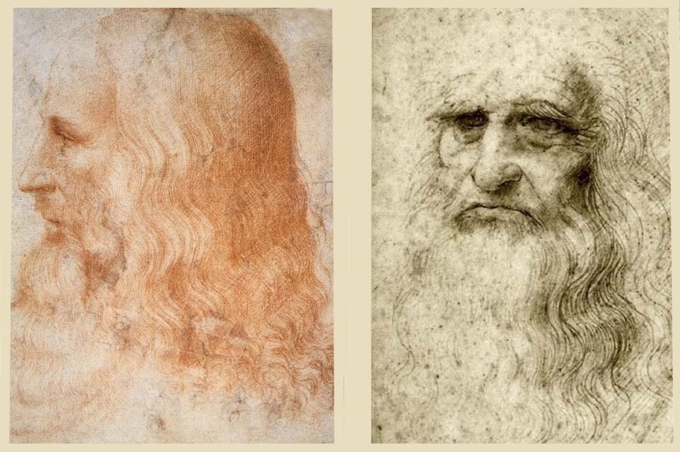 Retrato de Leonardo
